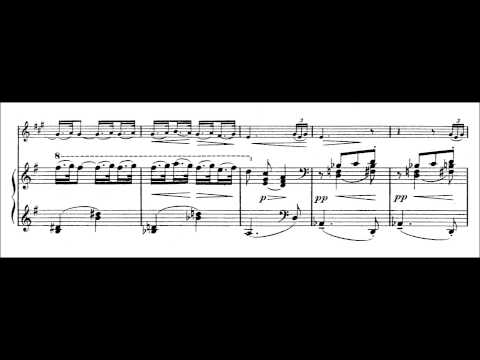 Claude Debussy - Petite piece for clarinet and piano (DEBUSSY'S 153RD BIRTHDAY TRIBUTE)