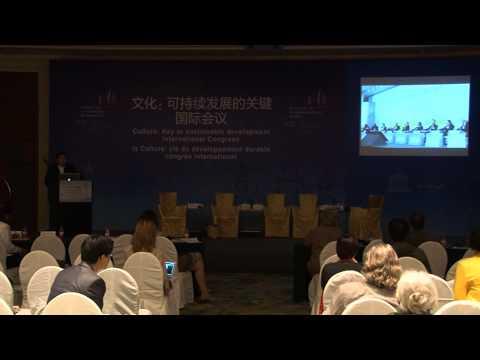 Richard Hsu, UNESCO Hangzhou Congress, Public Private Partnership in the culture sector