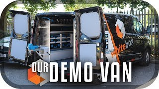 NEW Demo Van TOUR | Sortimo Racking | WHITEBOX