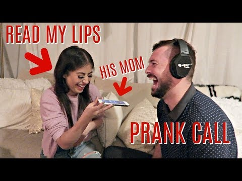 READ MY LIPS PRANK CALLING HIS MOM (A&W VIBES VLOGMAS DAY 7)