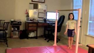 Annie 6 Year Old Gymnast-Penny Drop