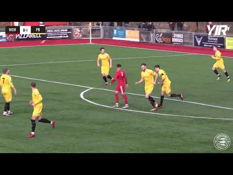 Highlights | Worthing 1-1 Potters Bar Town 09-02-2019