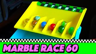 Season 6 has come to an end in my Marble Race series in my channel....