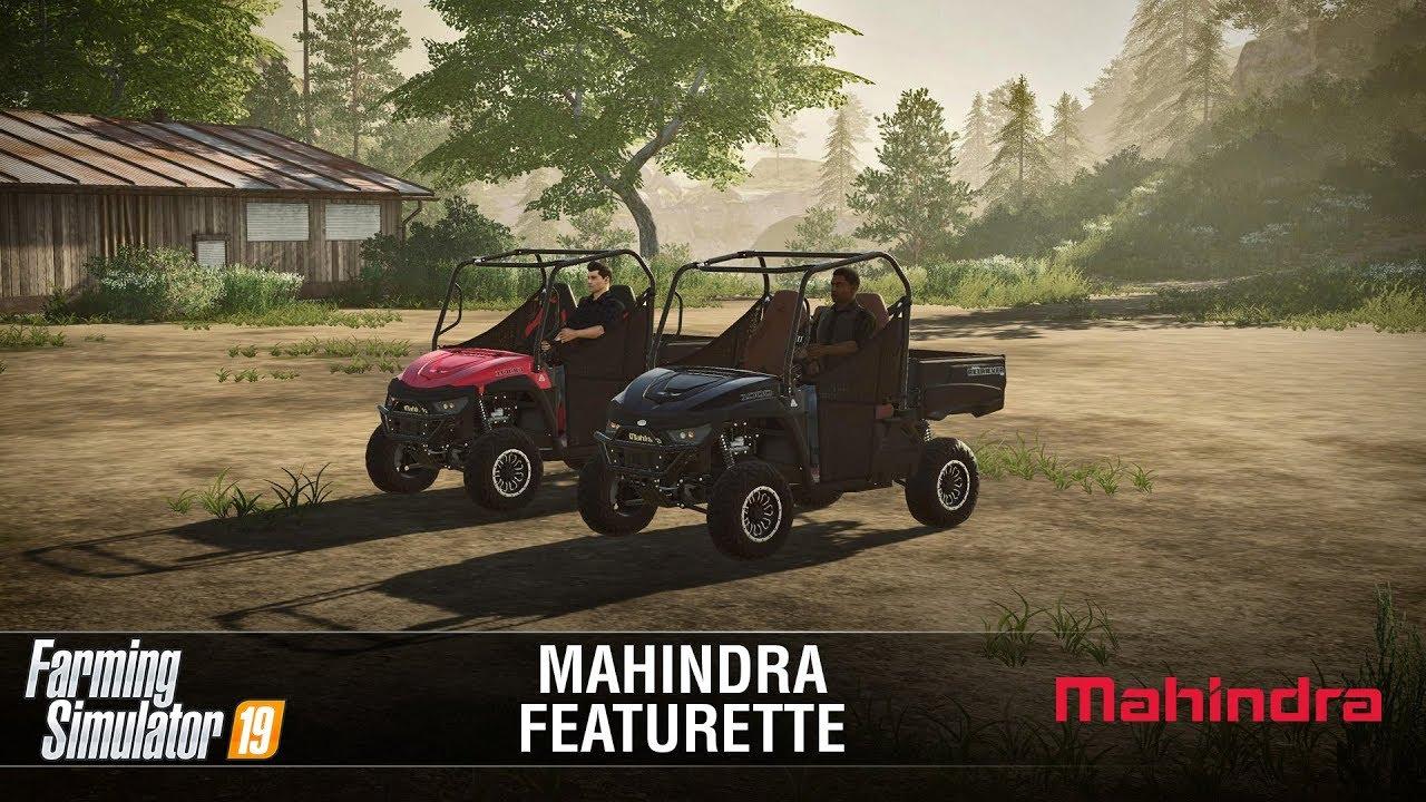 Farming Simulator 19: Mahindra Retriever - Featurette - Farming
