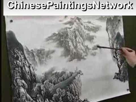 Chinese painting landscape (Series II-004)