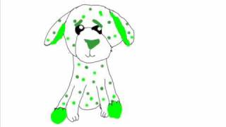 Clover Puppy Drawing Video