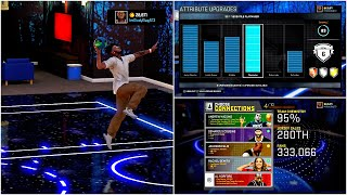 NBA 2k16 MyCareer | Attribute Update | Best Jump Shot - Ankle Breaking Size Up | Unlocking Badges