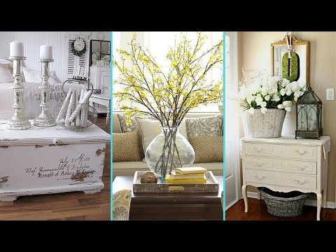 ❤ DIY Rustic Shabby chic style Summer Home decor Ideas ❤ | Summer Home decor Ideas| Flamingo Mango