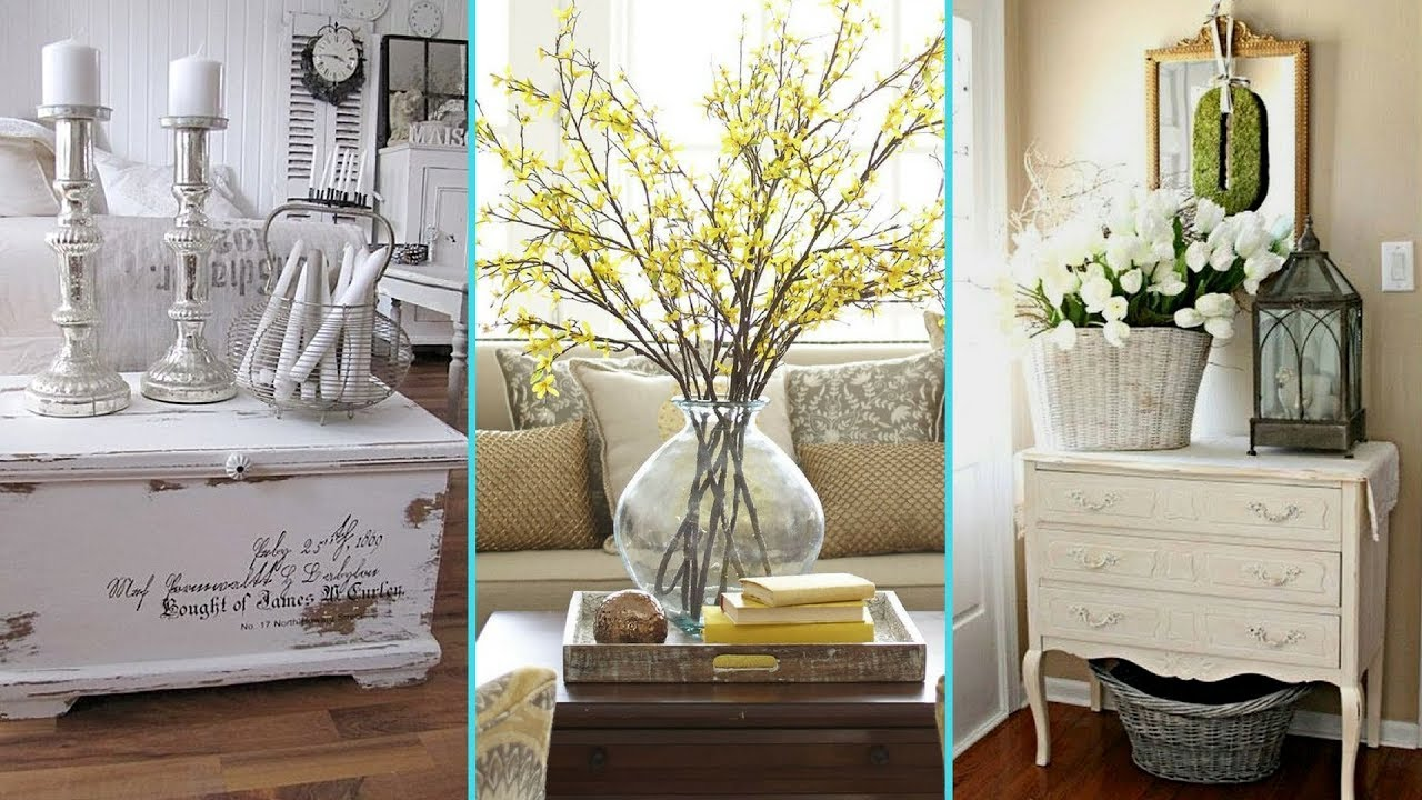 It is a mix of eclectic and vintage with pastel and neutral colors. Diy Rustic Shabby Chic Style Farmhouse Decor Ideas Home Decor Interior Design Flamingo Mango Youtube