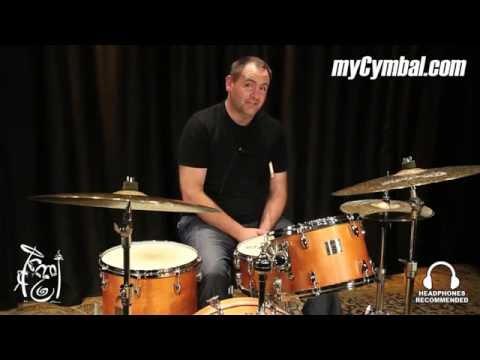 "Bosphorus 14"" Turk Dark Hi Hat Cymbals - 952/1164g - Played by Jason Cooper (K14HD-1041016F)"