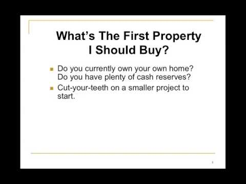 How To Buy Your First Cincinnati Investment Property