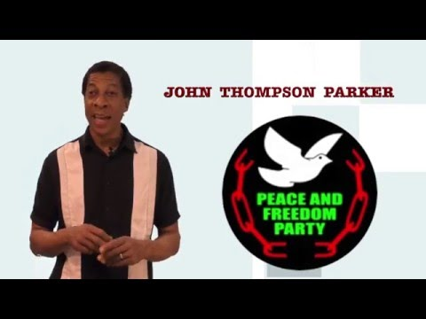 John Thompson Parker  for U.S. Senate 2016
