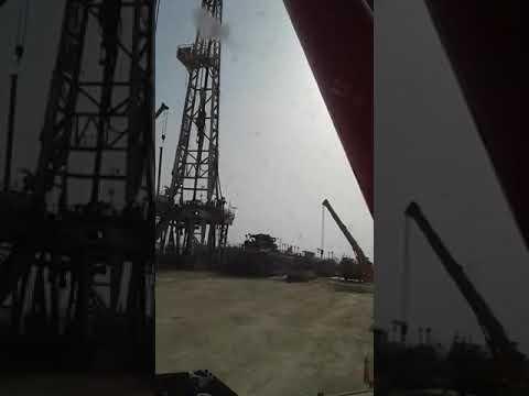 Rig site ....   petroleum exploration.  @UAE