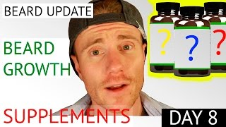 ESSENTIAL SUPPLEMENT GUIDE FOR HAIR GROWTH* Tips & Advice (BEARD UPDATE WEEK 1)