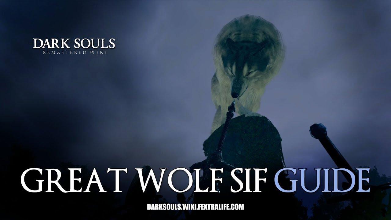 Great Grey Wolf Sif | Dark Souls Wiki