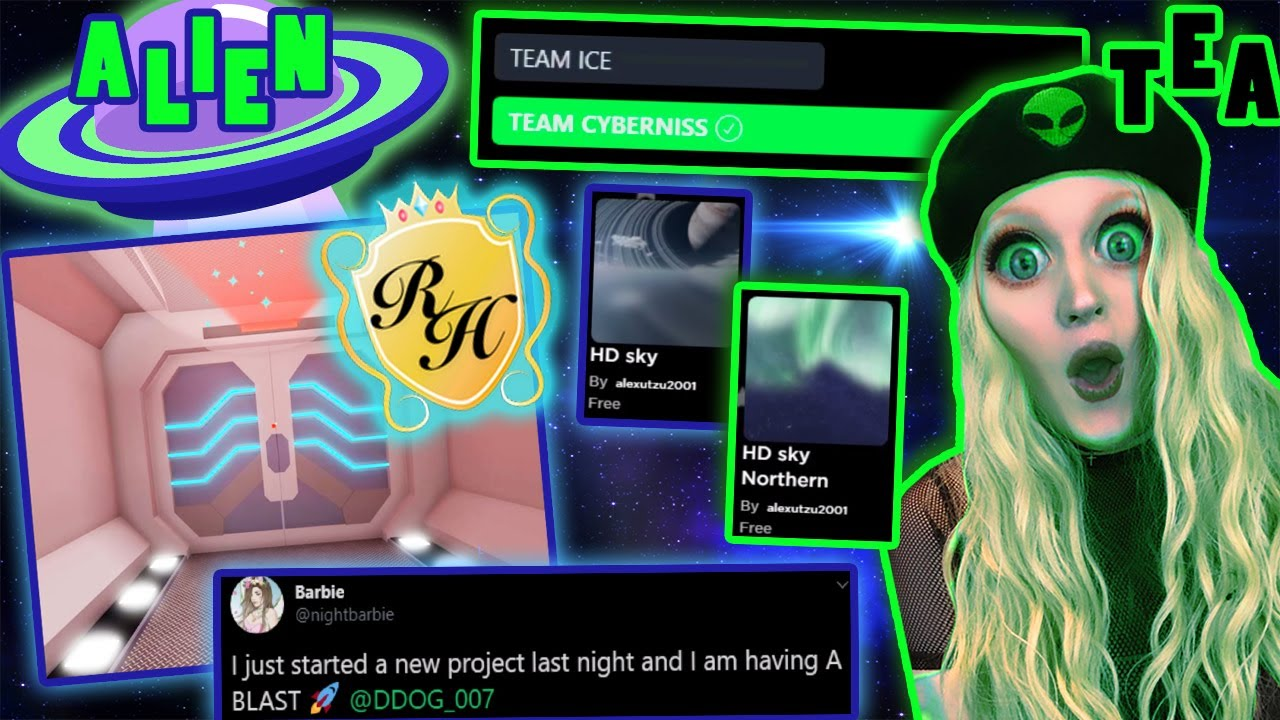 A Royale Space Update I Sued Ice And Won Royale High Alien