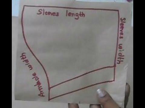 Sleeve Cutting In Simple Method ( DIY) - YouTube