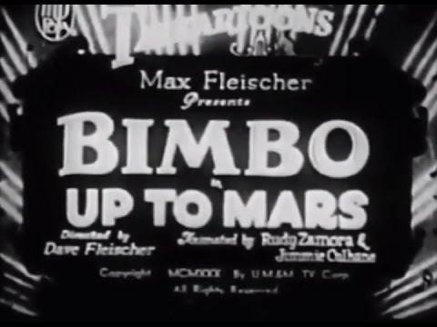Up to Mars (1930) Bimbo Cartoon