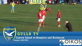 Canvey Island 0-4 Hampton & Richmond - 16 January 2016