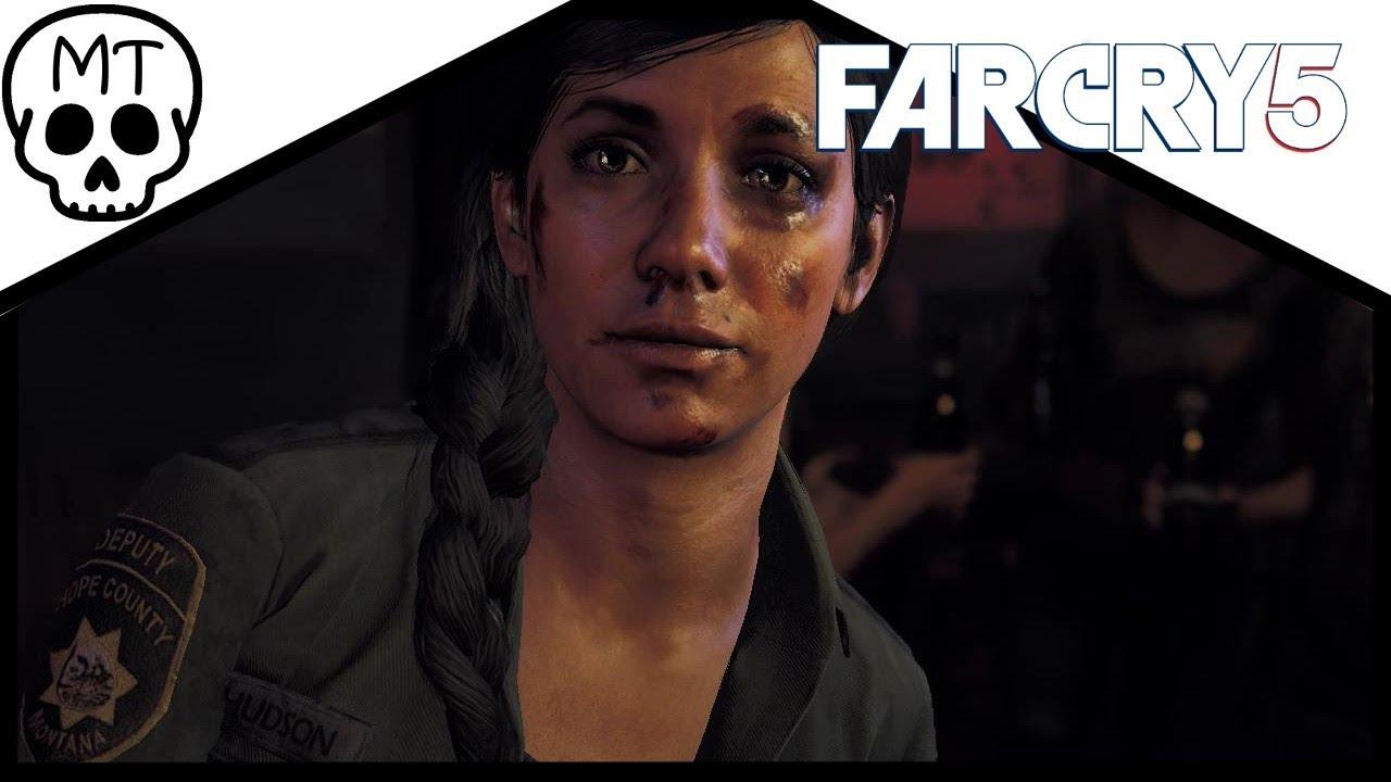 The Funniest Weapon Magnopulser Aka Alien Weapon Saving Deputy Hudson Far Cry 5 Youtube
