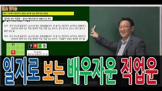 [사주명리특강] 일지로 보는 #배우자운 #직장운