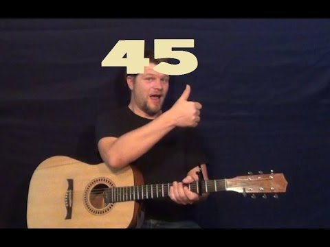45 (Shinedown) Easy Guitar Strum Licks How to Play 45 Tutorial