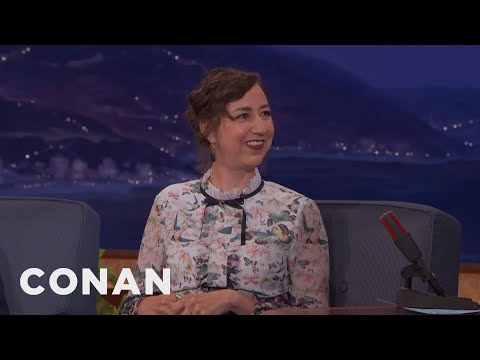 Kristen Schaal's Poorly Timed Trip To England  - CONAN on TBS