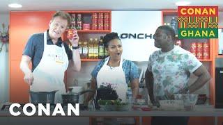 conan-sam-richardson-learn-how-to-cook-ghanaian-jollof-rice-conan-on-tbs
