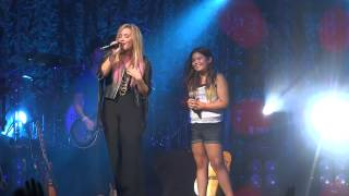 vuclip Demi Lovato & Madison De La Garza -- Together -- Las Vegas, NV -- 7/14/2012