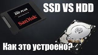 hDD VS SSD. Принцип работы