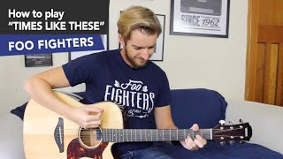 Times Like These Guitar Tutorial Foo Fighters EASY beginners Lesson