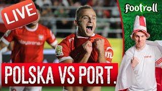 OGLĄDAMY półfinał Polska vs Portugalia! Mistrzostwa Świata 6 piłkarskich! - Na żywo