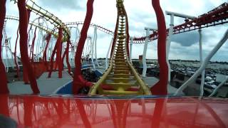Millennium Coaster Front Seat On-Ride POV Fantasy Island, Skegness