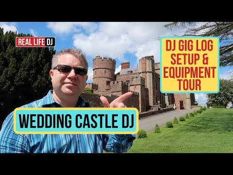 Wedding DJ Gig Log: How to DJ in a Wedding Castle NEW DJ MUST WATCH...