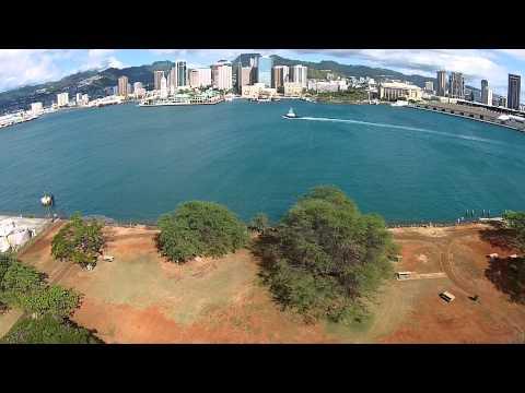 DJI Phantom 2 - Honolulu Harbor - Hawaii