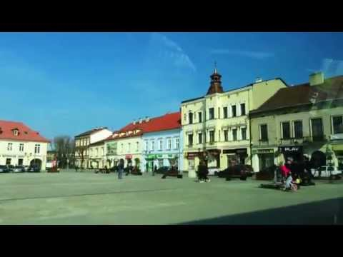 A Short Drive Through The Oswiecim Old Town