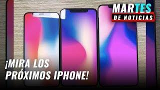 Filtran las tres versiones del iPhone 11 de Apple
