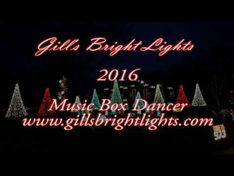 Christmas Lights Music Box Dancer