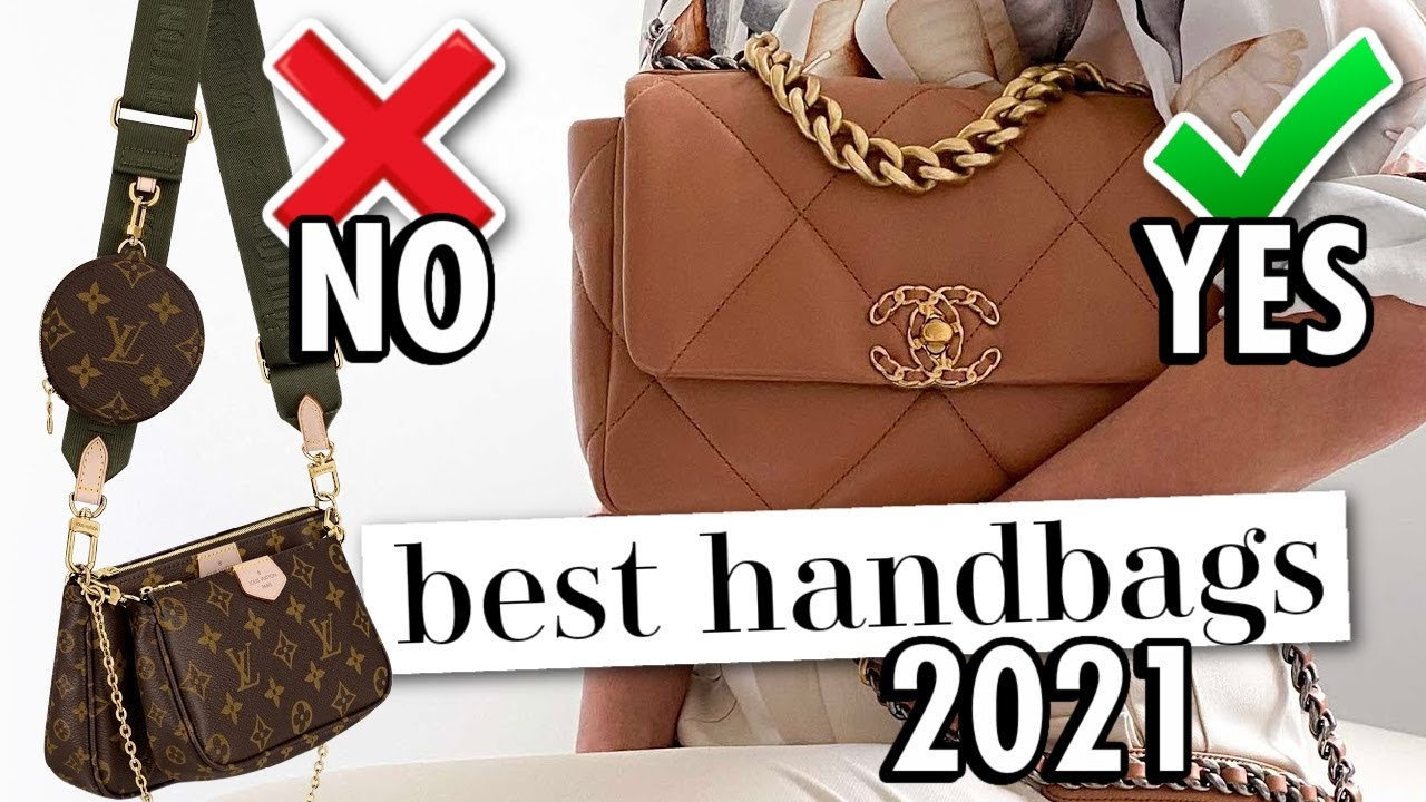 10 BEST Luxury Bags of 2021! *OUT vs IN*