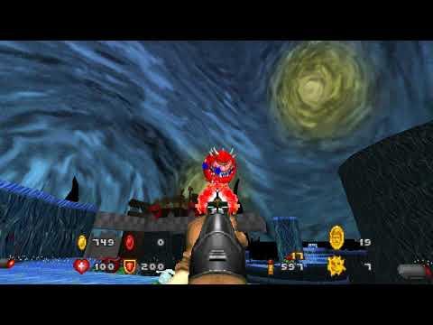 Doom: The Golden Souls - Map08: Starry Night