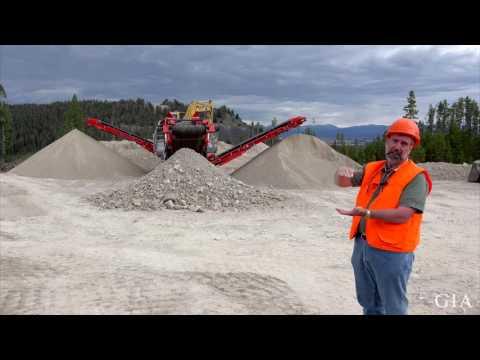 Sapphire Mining at Rock Creek, Montana