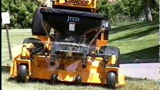 JRCO Broadcast Spreader