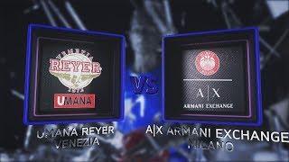 Highlights/ Umana Venezia-AX Armani Exchange Milano 7° turno LBA Serie A PosteMobile