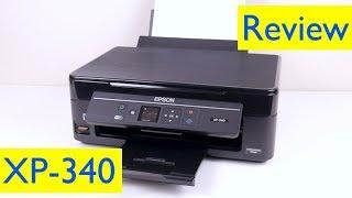 Epson XP-340 Printer Review
