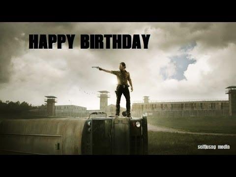 Happy Birthday The Walking Dead Version Youtube