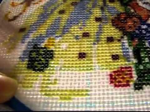 Смотреть видео процессы вышивки