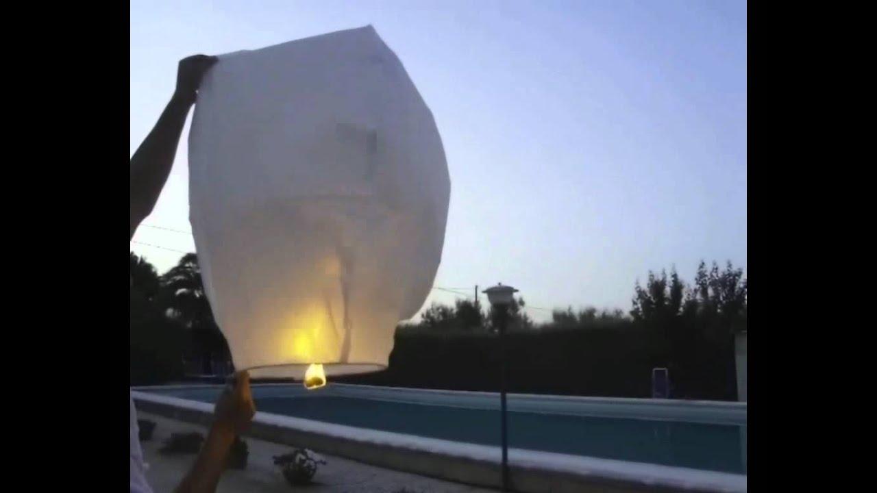Istruzioni Video Lanterne Volanti Cinesi - Instruction How to use Chinese Sky...