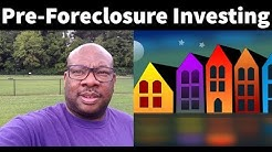 Pre-Foreclosure Investing Ebook - Facebook Live Replay!