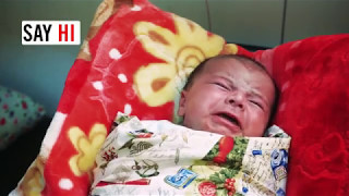 Meet Khalil: a refugee baby born in Greece