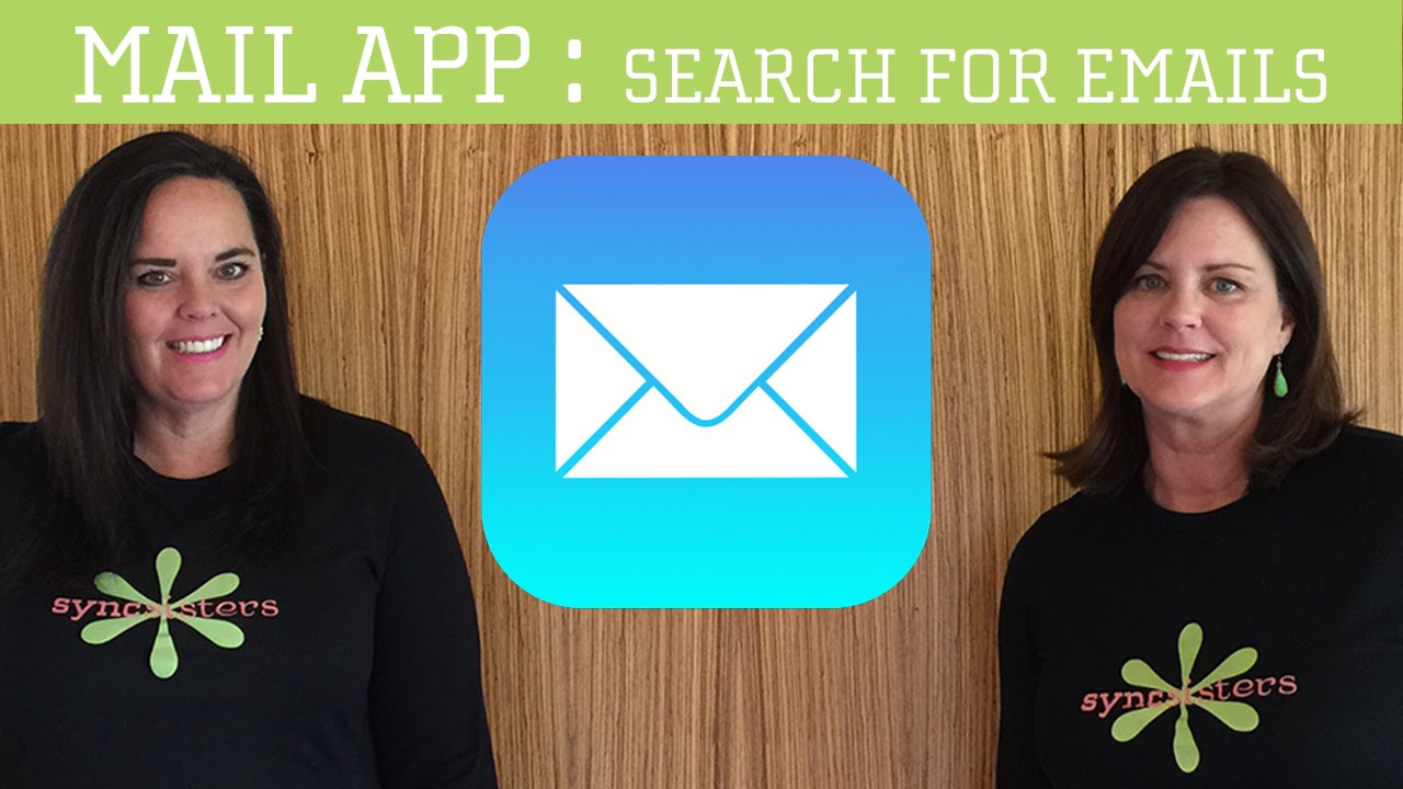 iPhone / iPad Mail - Searching for Emails